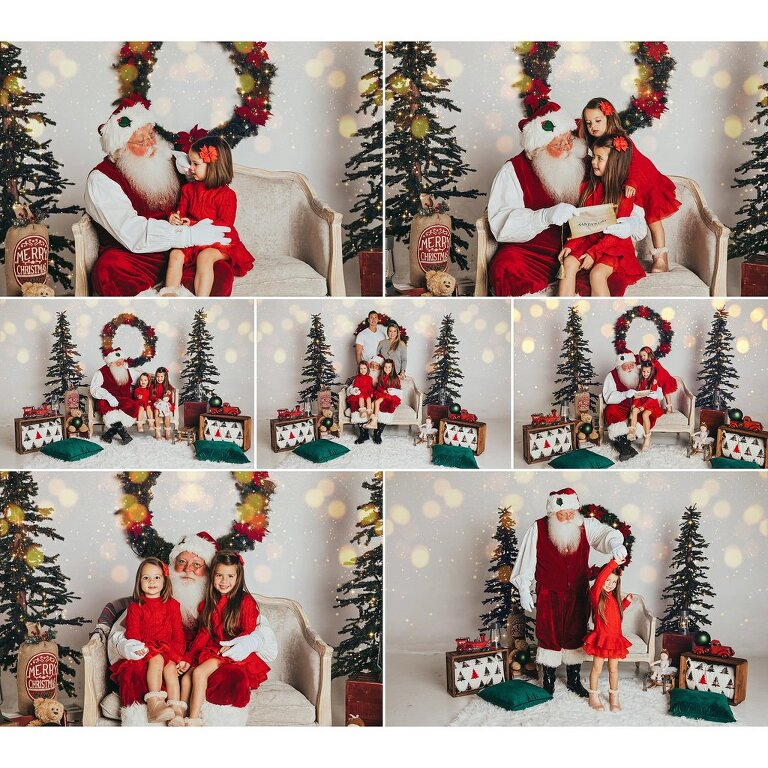 Christmas Mini Sessions, Holiday Mini Sessions, Holiday Portrait Sessions, Natural light photographer, Santa, Sarasota Child Photographer, Sarasota Photographer